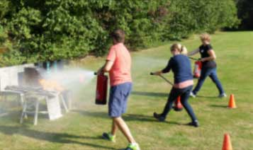 Fire Extinguisher Course - Firefighting